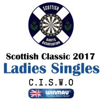 Scottish Classic 2017 Ladies's Darts Singles