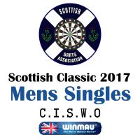 Scottish Classic 2017 Men's Darts Singles