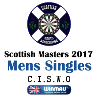Scottish Masters 2017 Men's Darts Singles