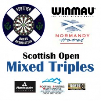 Scottish Open 2020 Darts Mixed Triples