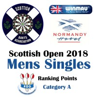 Scottish Open 2018 Men's Darts Singles