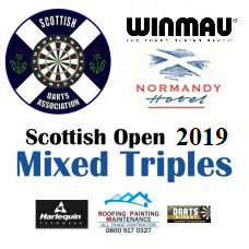 Scottish Open 2019 Darts Mixed Triples