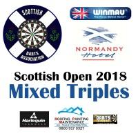 Scottish Open 2018 Darts Mixed Triples