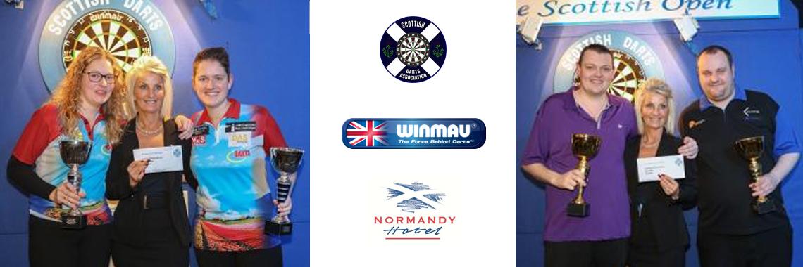 Scottish Open 2017 Pairs Champions