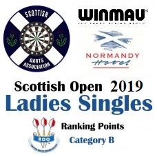 Scottish Open 2019 Ladies's Darts Singles