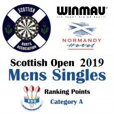 Scottish Open 2019 Men's Darts Singles