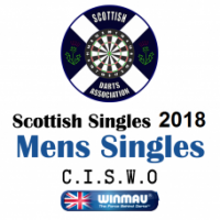 Scottish Singles 2018 Men's Darts Singles